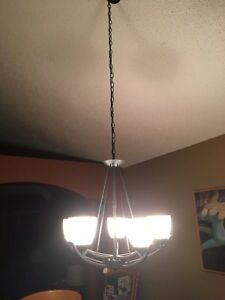 Dining room light fixture Strathcona County Edmonton Area image 2