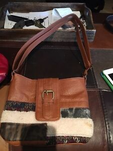 Brown youth purse