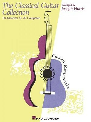 The Classical Guitar Collection Sheet Music 50 Favorites by 26 Compose 000315346