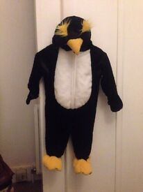 Halloween outfit PENGUIN fancy dress costume toddler 12 months+