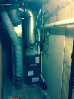 Furnace install and service
