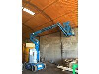 Z30 20 n genie boom scissor lift - hoist excellent working order