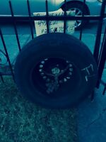 4 Sunmer Tires with rims