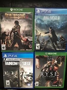 Xbox & PS4 Games