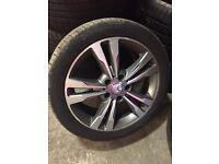 Original Mercedes eclass wheels with tyre 17