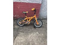 "Dinosaur 14"" orange bike"