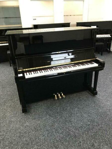Yamaha U3H upright piano black c1977-1978 | in Bolton, Manchester | Gumtree