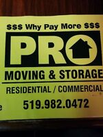 ****PRO-MOVING & STORAGE 519-982-0472 ASK FOR DONALD***