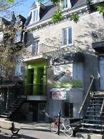 Espace commercial, rue Saint-Denis, coté est, plateau