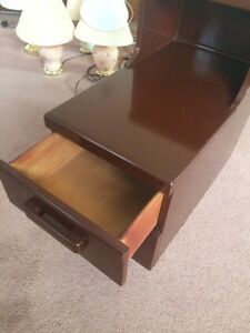 Vintage Solid Maple Nightstand London Ontario image 3