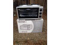 Micromark twin hob compact cooker brand new