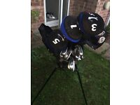St Andrews full golf set plus bag and stand