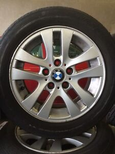 BMW style 156 rims  West Island Greater Montréal image 1