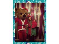 Santa and elf visits