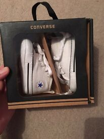 Baby converse, size 1