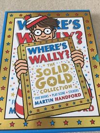 Where's Wally? The solid gold collection (5 books in a slipcase)