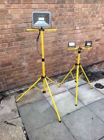 Portable super bright lights for work garden or camping