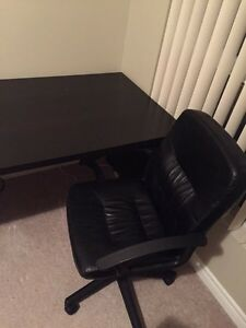 Desk and Chair Kitchener / Waterloo Kitchener Area image 2