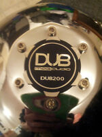 "x2 Audiobahn DUB200 12"" inch subwoofers w/ FREE ported box"