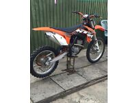 Ktm sxf 250 2012 great condition not crf yzf kxf van transit mx bike