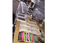 Job lot of phone case iPhone 5,5s 4,4s s4 s3 Htc