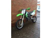 KX 85 2007 £579.37 ON REBUILD WITH KAWASAKI RECEIPTS SMALL WHEEL