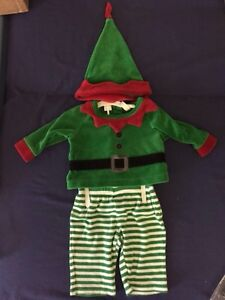 0-3 month elf outfit