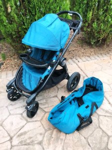 2016 Baby Jogger City Select double et extras