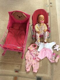 Baby Chou Chou doll bundle