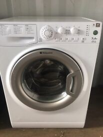 Cheap!! 7Kg A+ Hotpoint washing machine model on clearance just £130 very clean!!