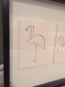 Ikea Picasso pictures in frame  Kitchener / Waterloo Kitchener Area image 4