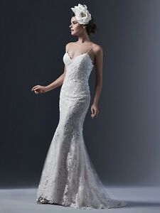Maggie Sottero wedding dress - size 2-4