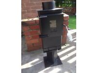 Wood burnering stove log burner