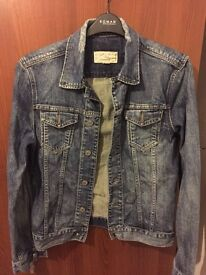 All Saints Men's Denim Jacket Size M