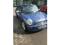 MINI Cooper 1.6I 16V COOPER CONVERTIBLE (blue) 2004