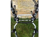 USED ONCE Thule 9104 clip on rear 3 bike carrier