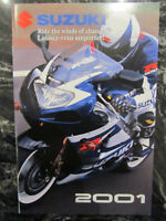 SUZUKI 2001 FULL LINE BROCHURE CATALOG