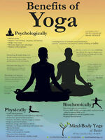 YOGA CLASSES - Reduced rate on now!