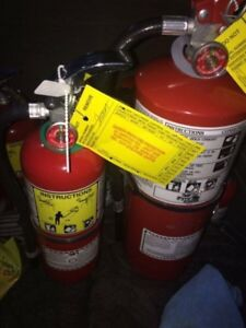 5lb abc Fire Extinguishers for sale (CERTIFIED)