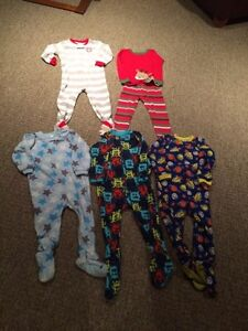 LOT of Toddler Boy's PJ'S - Size 3T