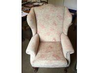 Matching pair of Kensington Fireside chairs