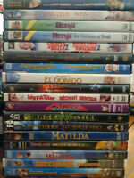 Family Movies on DVD for Kids; Benji, Cartoons & more