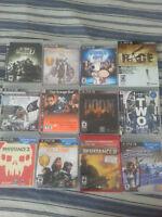 Playstation 3 games/jeux