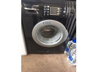 Gloss black Bosch washing macbone