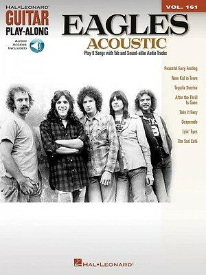 The Eagles Acoustic Sheet Music Guitar Play-Along Book and Audio NEW 000102659
