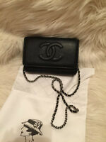 Brand New CHANEL Wallet On Chain For Sale