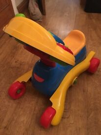 Vtech Grow N Go Ride On.