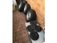 FORD TRANSIT WHEELS TYRES & CENTRE CAPS 2015/16