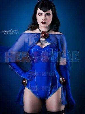 Bombshells Raven Costume DC Bombshells Rachel Roth Costume For Girl/Female/Lady