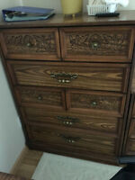 Dressers and night stands